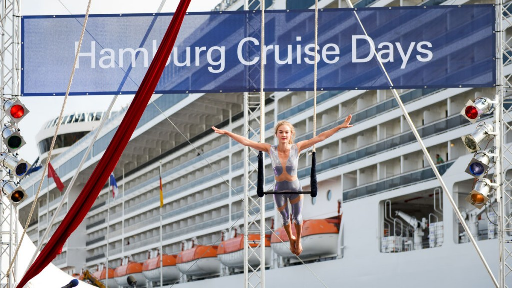 Artistin bei den Hamburg Cruise Days