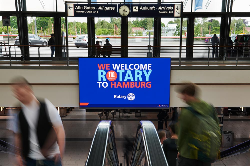 Rotary International Convention Inspires 26,000
